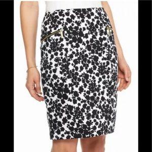 Michael Kors floral skirt